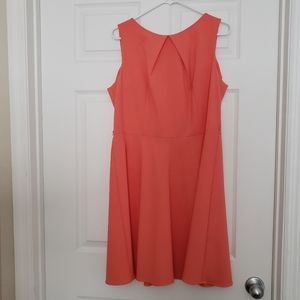 Buy 2, get 1 free...Dress barn coral dress